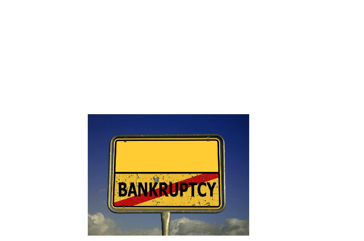 faillissement