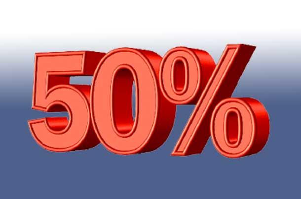 40 procent