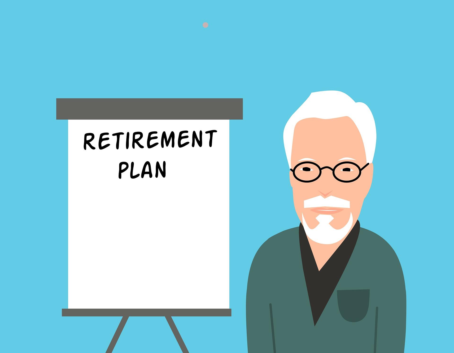 gepensioneerd